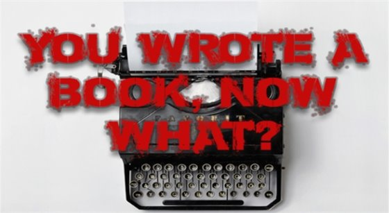 You wrote a book, now what