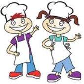clip art kid chefs