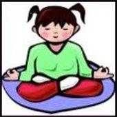 clip art child yoga