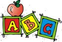 Clip art blocks with ABC