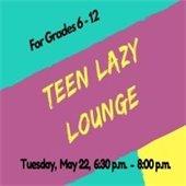 Teen Lazy Lounge