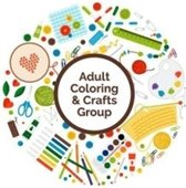 adult coloring and crafts group