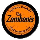 The Zambonis hockey puck