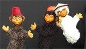 monkey puppets