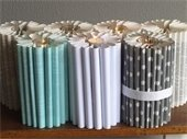 book fold candle holders