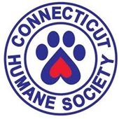 Connecticut Humane Society logo with pawprint