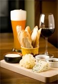 wine beer cheese