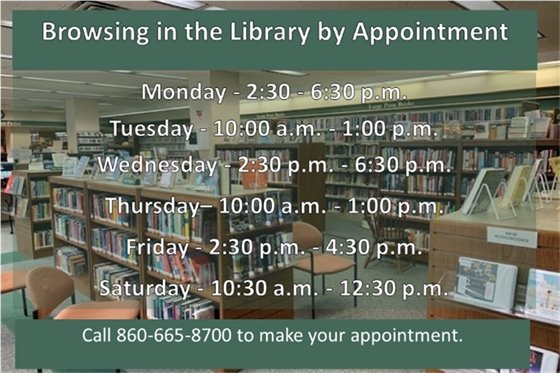 Browsing by appointment