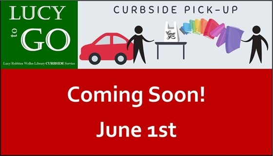 Lucy to go curbside pick up coming June 1