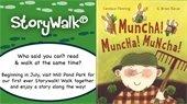 StoryWalk Muncha Muncha Muncha book
