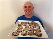 chocolate snowstorm cookies