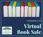 friends live book sale