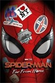spiderman far from home movie poster