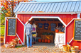 Patrons shopping at Eddy Farm Roadside Stand