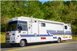 Command Post Vehicle used by fire, police and ems during major incidents