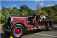 Old fire truck that was once used by Newington Volunteer Fire Department