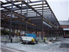 Steel Work Begins December 7, 2004