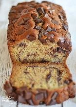 chocolate banana snickerdoodle bread
