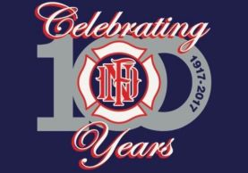 Newington Volunteer Fire Department 100 Year Celebration Banner