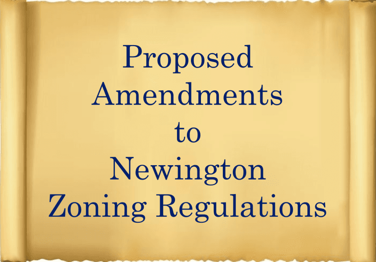 scroll reading proposed zoning amendment