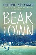 book cover for beartown