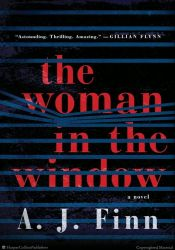 book cover for the woman in the window