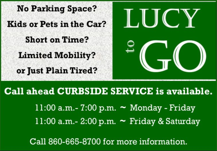 Lucy to Go Curbside Service