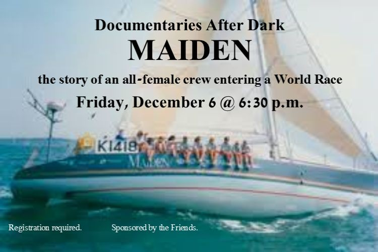 maiden documentary slide