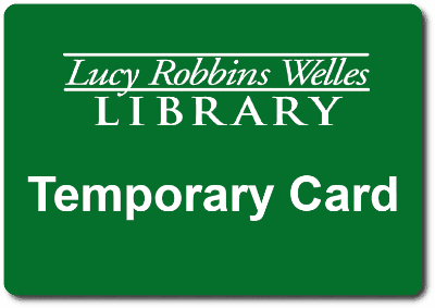 temporary library card