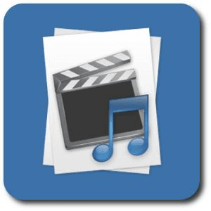 music and movies button