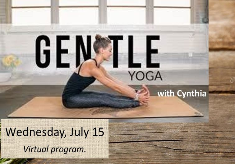 Gentle yoga newsflash