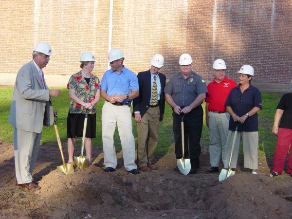 Ground Breaking - September 1, 2004