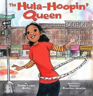 Hula Hooping Queen book cover