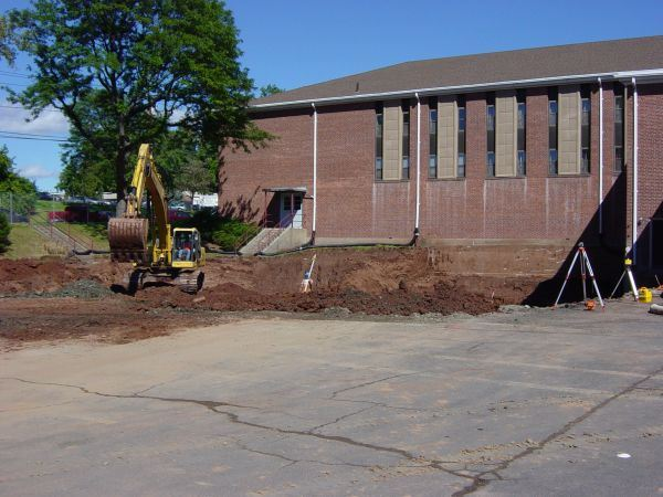 Site Preparation - September 15, 2004