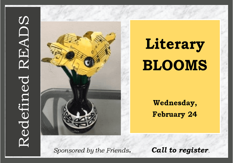 Literary Blooms newflash