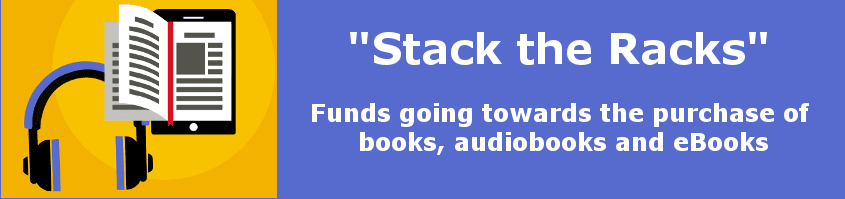 stack the racks banner