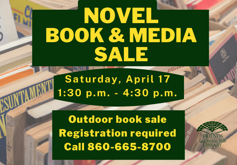 Novel Book and Media sale Revised for April Newsflash