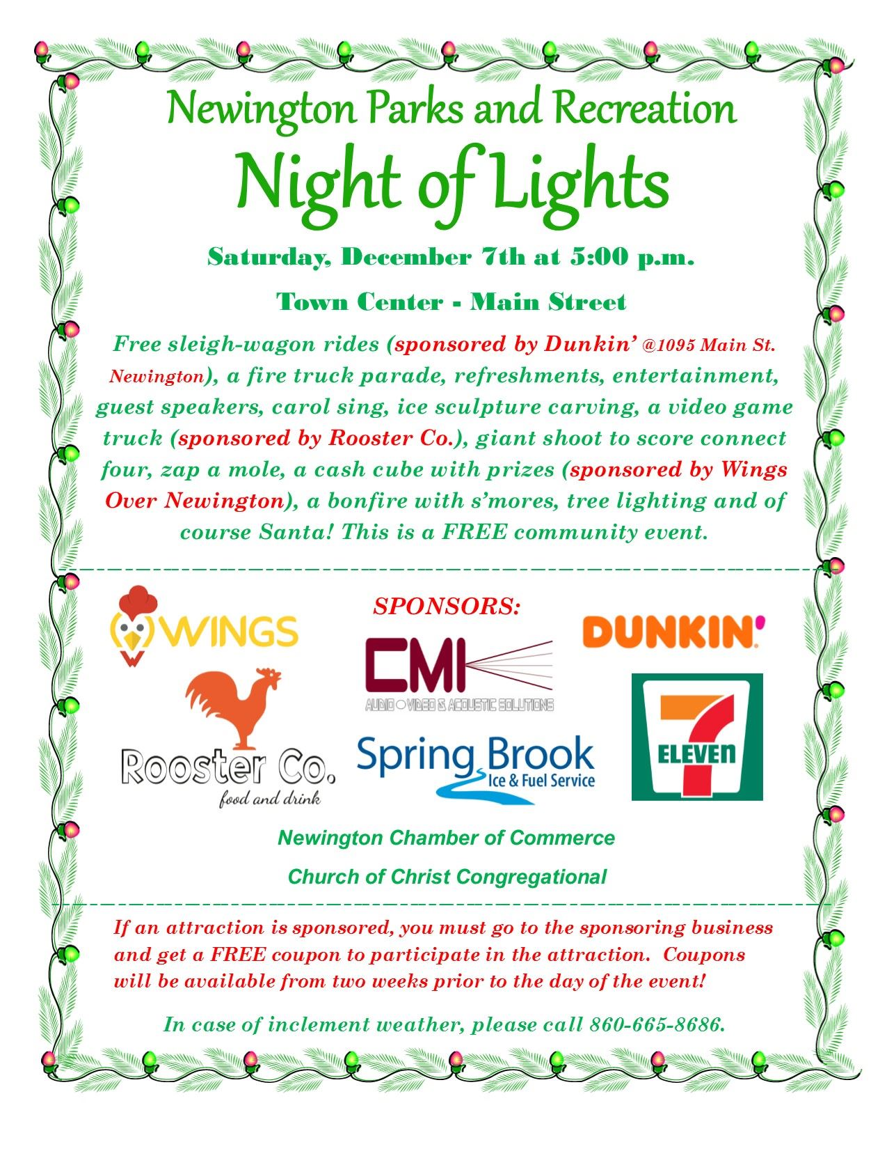 Night of Lights Flyer