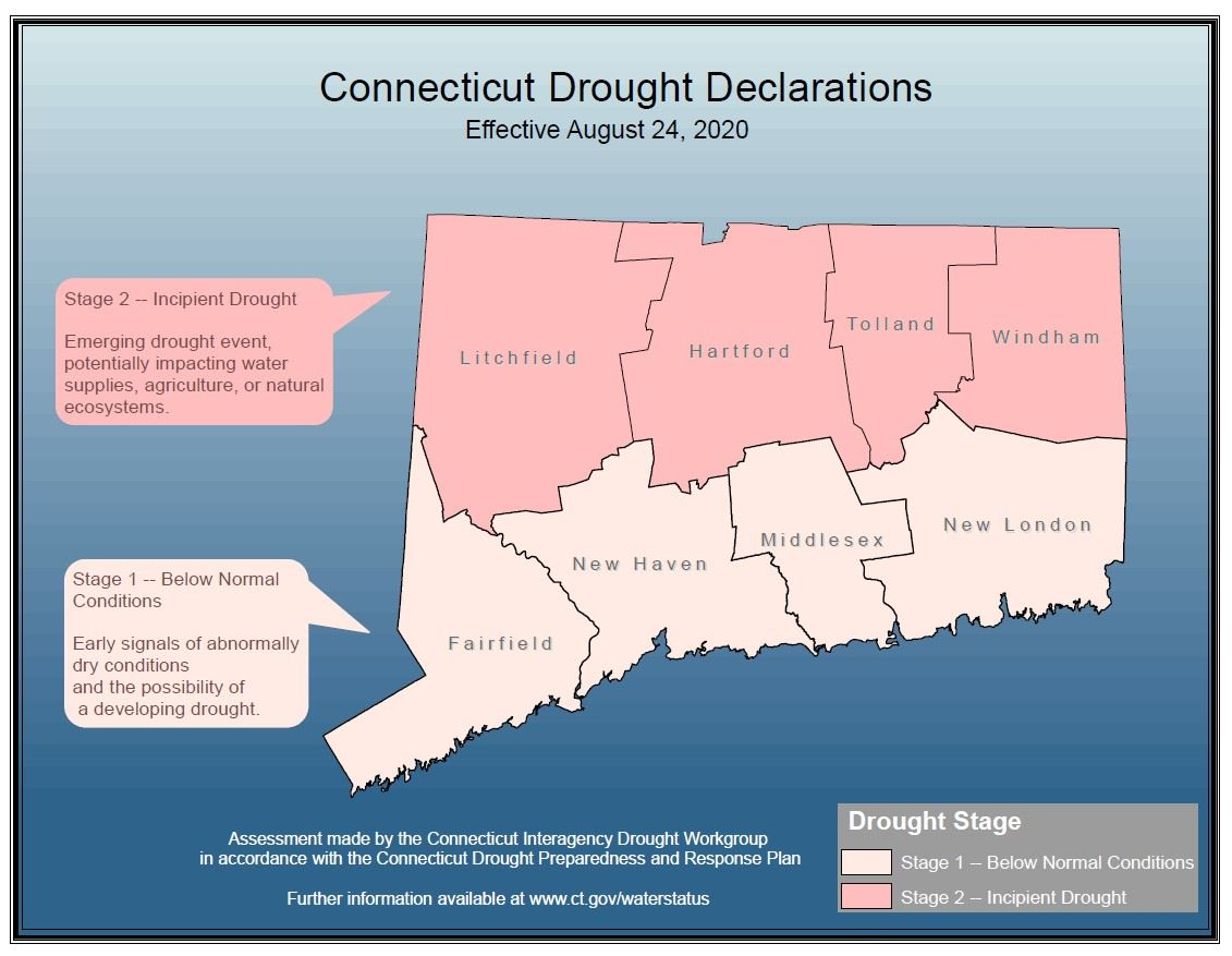 Drought Declarations Map